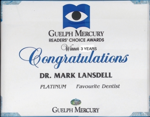 Dr. Mark Lansdell | Guelph Readers' Choice Awards